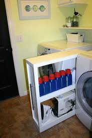 Storage Ideas For Small Laundry Rooms by Best 20 Small Space Laundry Room Storage Ideas On Pinterest