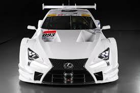 lexus lc 500 turbo lexus lc gt500 competing in 2017 super gt season autoguide com news