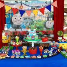 Thomas The Train Table And Chair Set Thomas The Train Party Ideas For A Boy Birthday Catch My Party