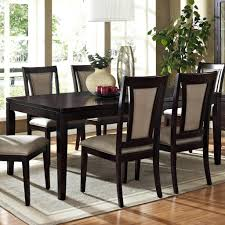 espresso dining room sets dining tables victoria espresso dining table and chairs buy