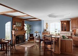 Best Wall Colors For Wood Trim Images On Pinterest Dark Wood - Kitchen and living room colors