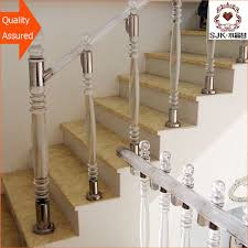Banister Handrail Acrylic Banister Rails Sale Acrylic Baluster With Led Lamp