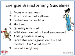 how to ideas energize brainstorming for real innovation energize performance