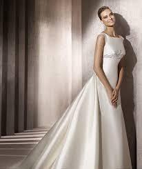Silk Wedding Dresses A Line Wedding Dresses Weddbook