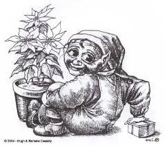 eva cassidy art christmas elf