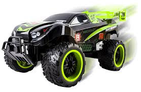 remote control car lights amazon com thunder remote control rc truck truggy car light up