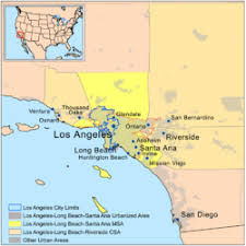 los angeles suburbs map greater los angeles area