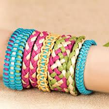 bracelet braid kit images Craftabelle suede braid leather creation kit target