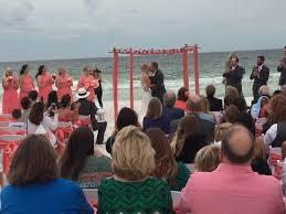 fort walton weddings beachside wedding picture of four points by sheraton destin ft