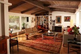 Midcentury Modern Living Room - 5 mid century modern living rooms to admire parade of homes