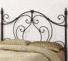 Wrought Iron Headboard Full by Queen White Metal Headboard Finest Wrought Iron Headboard With