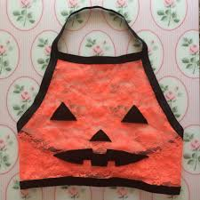 amme b u0027s style 2 halloween pumpkin jack o lantern orange lace