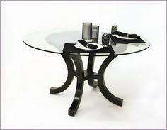 Glass For Table Tops Casual Swivel Caster Glass Top Dinette Set Dinetteonline Com