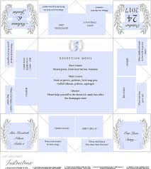 cootie catcher wedding program template printable wedding program menu card cootie