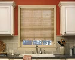 kitchen window blinds
