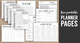 printable menu planner pages monthly planner template printable planner pages paper trail design