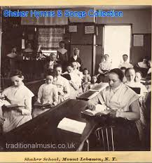 shaker music collection start page and titles list