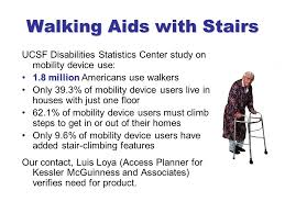 the stairwalker blue a walking aids with stairs ucsf disabilities