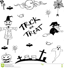doodle of halloween vector art stock vector image 72915257