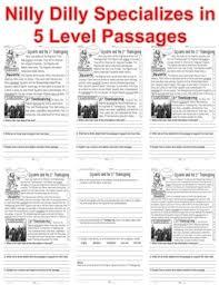 the 1st thanksgiving read 5 level passage idea