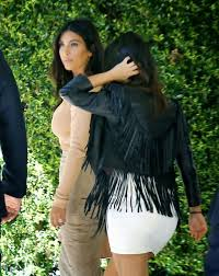 kim kardashian u0026 kourtney kardashian at abbey wilson u0027s baby shower