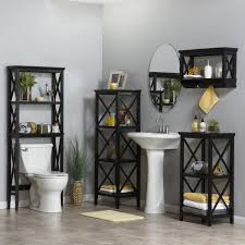 over the toilet etagere amazon com x frame collection spacesaver espresso home