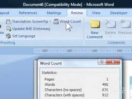 Count Words In A Document In Wordpad How To Check The Word Count Of A Document