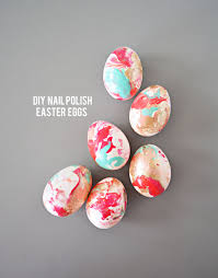 Decorating Easter Eggs Fake by Diy Nail Polish Easter Eggs Little Inspiration