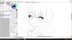 paint tool sai tips and tricks lineart youtube