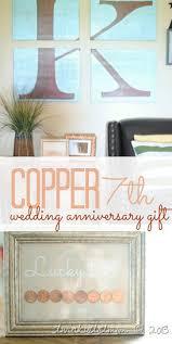 7th wedding anniversary gift ideas copper traditional 7th wedding anniversary gift idea i ve done