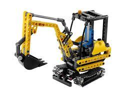 amazon com lego technic mini excavator 8047 toys u0026 games