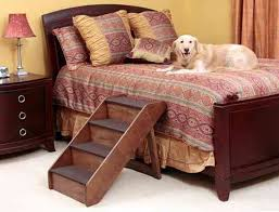 diy dog stairs for bed home design ideas