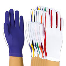 color stretch gloves