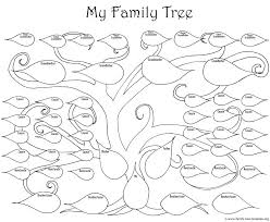 family tree coloring pages family tree coloring page coloring the big printable family tree