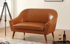 Mid Century Modern Sleeper Sofa by Divano Roma Leather Loveseat Jet Com