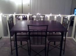 mainstays 5 dining set colors walmart