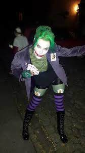 Womens Joker Halloween Costume 20 Joker Halloween Ideas Joker Halloween