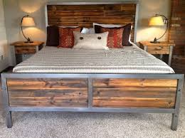 Wood And Iron Bedroom Furniture Metal And Wood Bedroom Sets Foter Furniture Best 25 Size