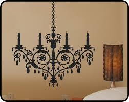 Chandelier Wall Stickers 21 Chandelier Wall Decals Crystal Chandelier Wall Decal Removable