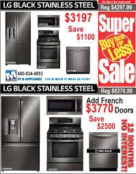 lg black diamond kitchen appliance sale 3197 in mesa az