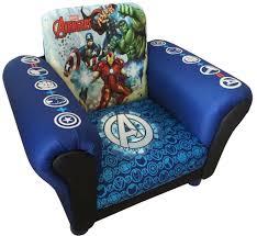 Armchair Upholstered Marvel Avengers Childrens Kids Armchair Upholstered Seat Sofa