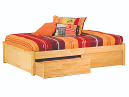 classic concord platform bed flat panel footboard