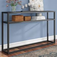 long skinny console table long thin console table wayfair skinny thesoundlapse com