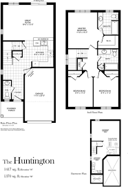 Huntington Floor Plan Huntington 1417 Sq Ft Centerville Westin Homes