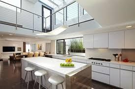 salon et cuisine moderne 99 idées de cuisine moderne où le bois est à la mode kitchens