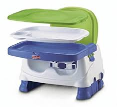 booster seat for bench table amazon com fisher price healthy care booster seat blue green gray