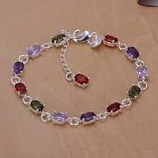 birthstone bracelets for online get cheap silver birthstone bracelet aliexpress