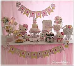 Pinterest Birthday Decoration Ideas 253 Best Hello Kitty Party Ideas Images On Pinterest Birthday