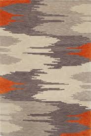 Modern Area Rugs 6x9 Grey And Orange Area Rug For Dalyn Rugs Impulse Is6 5x8 6x9 Decor
