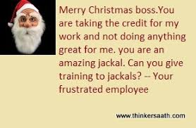 hilarious merry christmas card messages to boss free and funny